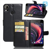 PU Leather Wallet Case for HTC Desire 10 Pro