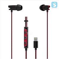 8pin Lightning in-ear Earphone with Mic