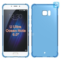 Anti Drop Clear TPU Case for HTC U Ultra / Ocean Note