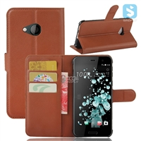 PU Leather Wallet Case for HTC U Play / Alpine