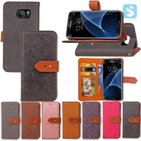 PU Leather Wallet Case for SAMSUNG Galaxy S7 Edge /G935
