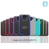 Football Pattern 3in1 Shockproof Case for LG K3 2017