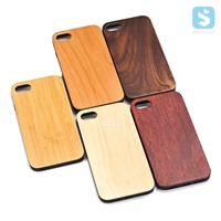 Magnetic TPU Wood Case for iPhone 7