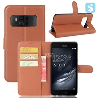 PU Leather Wallet Case for ASUS Zenfone AR / ZS571