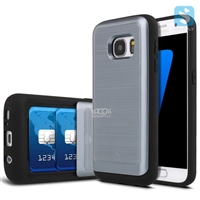 With Card Slot Slide Case for SAMSUNG Galaxy S7 /G930