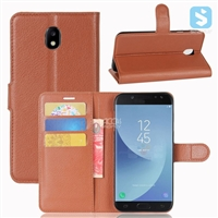 Litchi PU Leather Wallet Case for SAMSUNG Galaxy J5 (2017)
