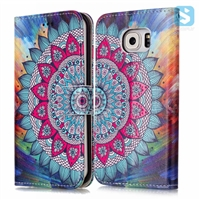 Printed PU Leather Wallet Case for SAMSUNG Galaxy A5(2017)