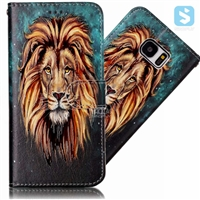 Printed PU Leather Wallet Case for Samsung Galaxy S7 G930