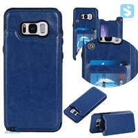 Crazy Horse PU Leather Back Cover for Samsung Galaxy S8 Plus