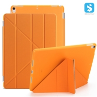 Back Matte PC PU Smart Cover for iPad Pro 10.5