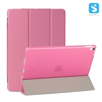 Matte PC Tri Fold Smart Cover for iPad Pro 10.5