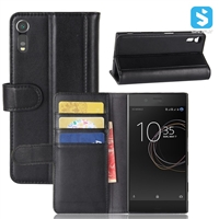 Real Leather Wallet Case for SONY Xperia XZs /G8231