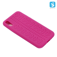 Tyre Pattern Silicon Case for iPhone X