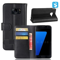 Genuine Leather Wallet Case for SAMSUNG Galaxy S7 /G930