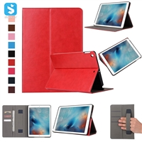PU Leather Wallet Case for iPad 9.7 2017