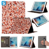 Printed PU Leather Case for iPad 9.7 2017
