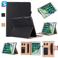 Business Style Hand Strap Back Cover for iPad 9.7 2017
