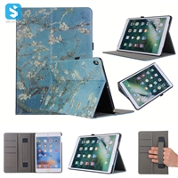 Printed Hand Strap Back Cover Case for iPad Pro 10.5