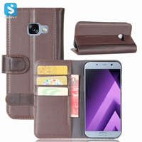 Genuine Leather Wallet Case for SAMSUNG Galaxy A7(2017)