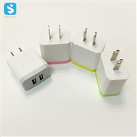 Dual USB Port USA Wall Charger