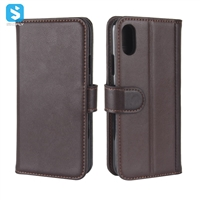 Genuine Leather Wallet Case for iPhone X(S)