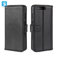 Genuine Leather Wallet Case for ASUS ZenFone 4 Pro (ZS551KL)