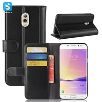 Genuine Leather Wallet Case for SAMSUNG C7 2017