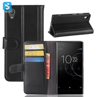Genuine Leather Wallet Case for SONY Xperia XA1 /G3223