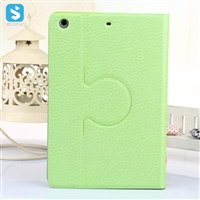 TPU Diamond Pattern PU Leather Rotation Stand Case for iPad Mini 3