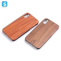 PC Real Wood Case for iPhone X(S)