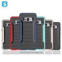Colorful PC Bumper TPU Back Cover for Samsung Galaxy S8