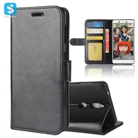 R64 PU Leather Wallet Case for Nokia 7