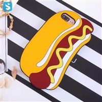 Hot Dog Soft Silicon Case for iPhone 7 8 Plus