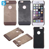 PU Leather Back Cover for iPhone 6S