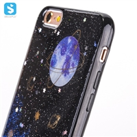 Black TPU Epoxy Case for iPhone 6s Plus