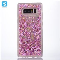 Soft Bumper Liquid Case for Samsung Galaxy Note 8