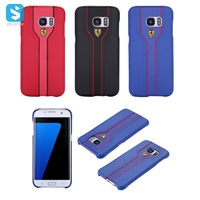 PU Leather Back Cover for Samsung Galaxy S7 Edge /G935