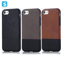 Contrast Color Stick PU on TPU Back Cover for iPhone 7 8