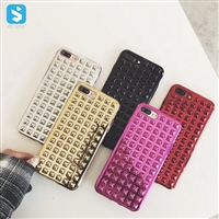 Electronic Rivets Pattern Case for iPhone X