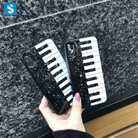 Bling Piano Epoxy TPU Case for iPhone X
