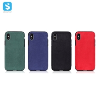 Full Cover PU Leather TPU Case for iPhone X