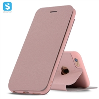 Litchi Pattern PU Leather Case for iPhone 6s