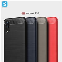 Brushed Pattern TPU Case for Huawei P20