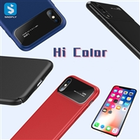 Tempered Glass Back Case for iPhone X