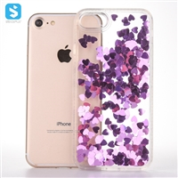 Heart Bling Liquid Case for iPhone 7 8