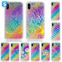 Colorful Electronic Printed Case for iPhone X