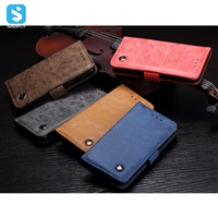 PU leather wallet phone case for iPhone 7 8
