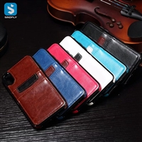 skin wallet phone case for iPhone X