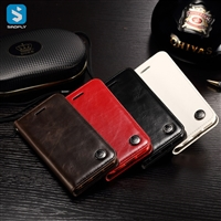 magnetic Pu leather wallet phone case for iPhone X