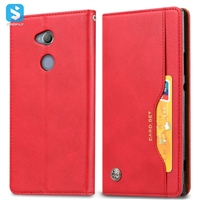 PU leather wallet phone case for Sony Xperia XA2 Ultra